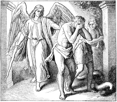 Expulsion of Adam and Eve from the Garden of Eden